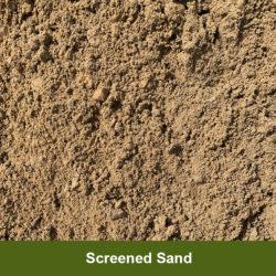 Screened-Sand